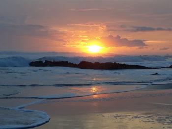 Kickstart Costa Rica zonsondergang
