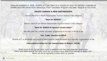 ACT Volunteer Participation Report 2018 2
