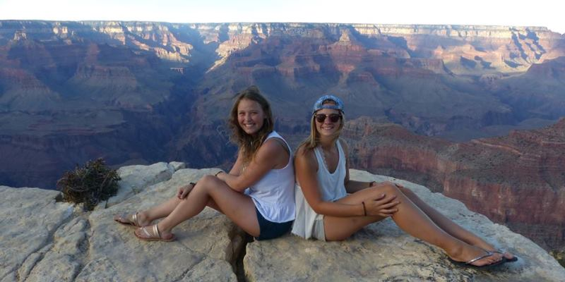 Au Pair in Amerika Gran Canyon