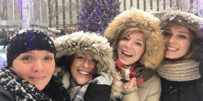 Au Pair in Amerika Kerst in NY