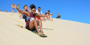 Australie Kickstart Ultimate Oz sandboarding