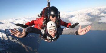 Avondale Highschool Nieuw-Zeeland 5 skydive