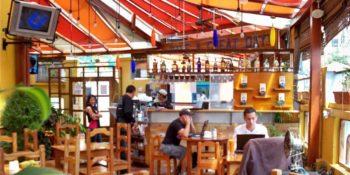 Cafeetje in Quito