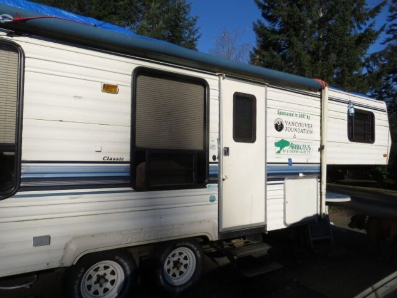 Canada Wilderness Volunteer Program Accommodatie trailer