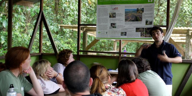 Costa Rica Wildlife Expedition training