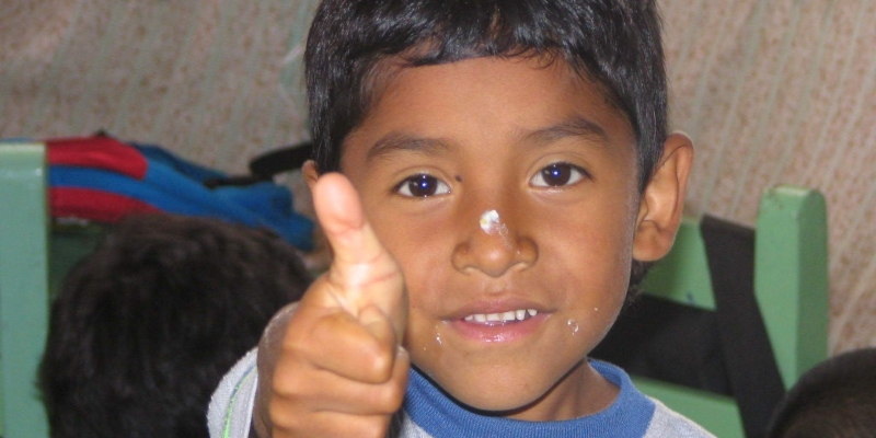 Ecuador Galapagos eilanden kinderopvang