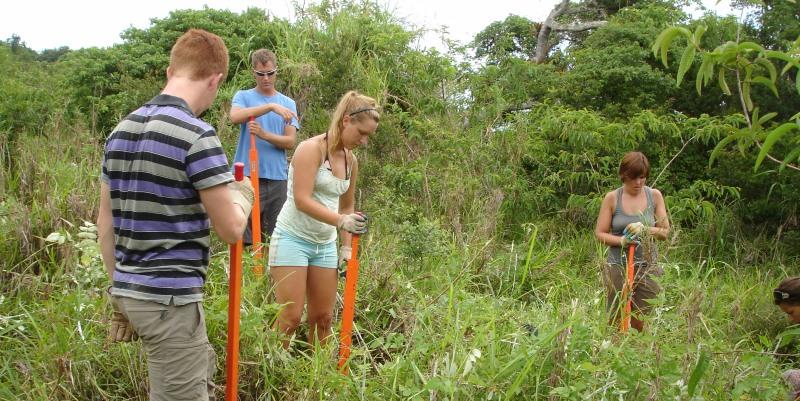 Ecuador Galapagos eilanden natuurproject