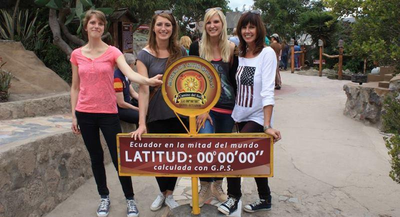 Ecuador vrijwilligerswerk Quito la mitad del mundo