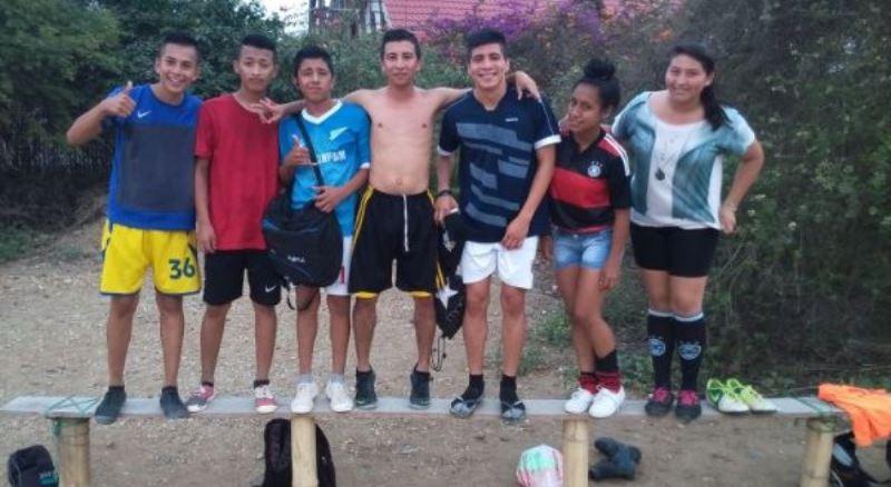 Ecuador vrijwilligerswerk voetbalproject