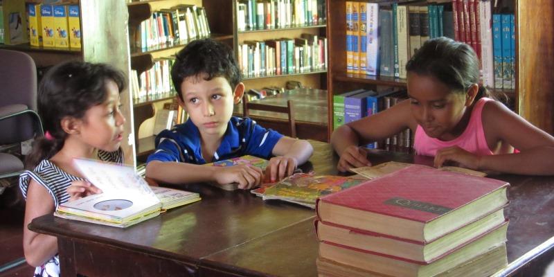 Nicaragua vrijwilligerswerk in Granada social library