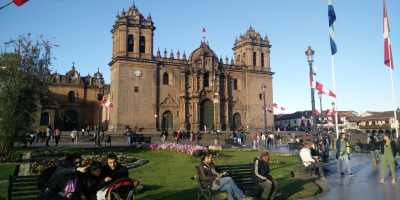 Peru vrijwilligerswerk Cusco Luuk