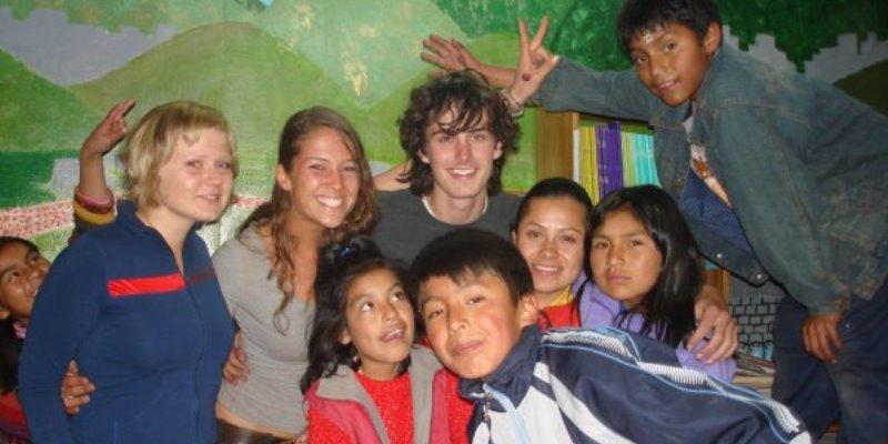 Peru vrijwilligerswerk Cusco kinderopvang