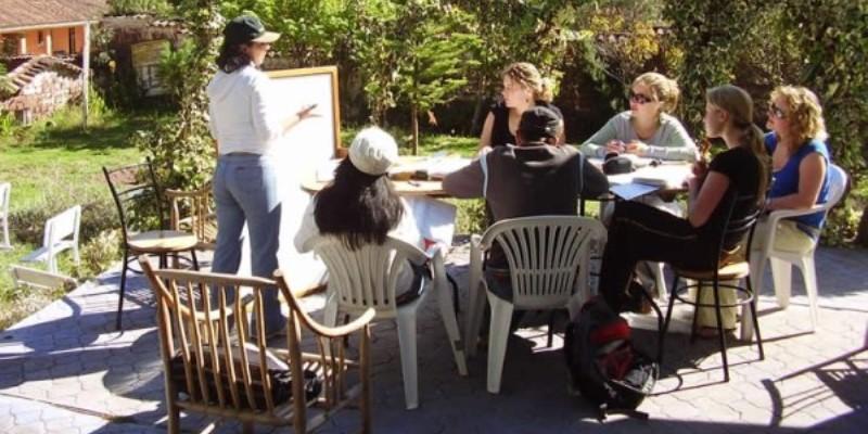 Peru vrijwilligerswerk Cusco taalcursus Sacred Valley