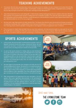 Resultaten laatste kwartaal 2018 Livingstone