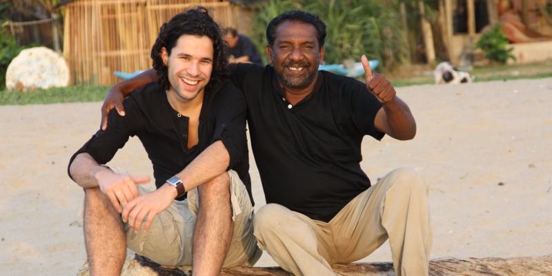 Sri Lanka Alex op reis