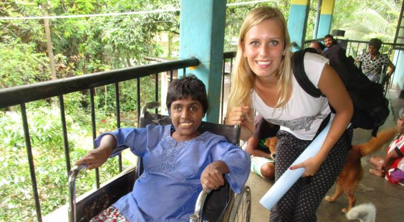 Sri Lanka vrijwilligersproject met mensen met beperking 2