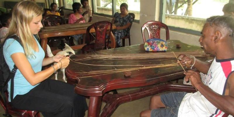 Sri Lanka vrijwilligerswerk Rosalie