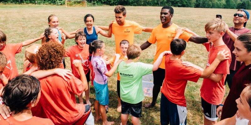 Summercamp USA groep