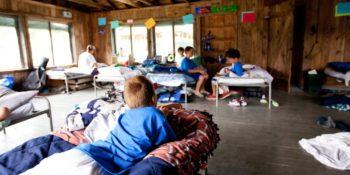 Summercamp USA slaapzaal kids