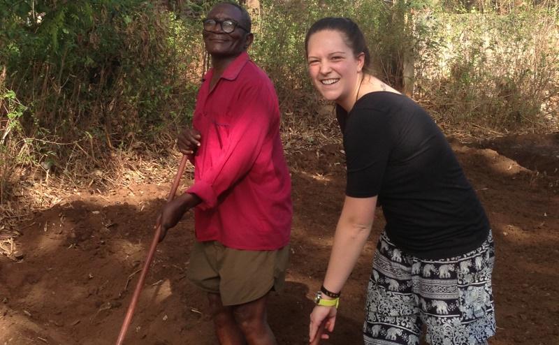 Tanzania vrijwilligerswerk Kilimanjaro groentetuin 2
