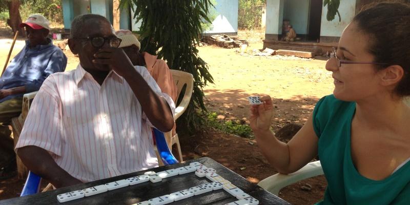 Tanzania vrijwilligerswerk Kilimanjaro ouderenproject