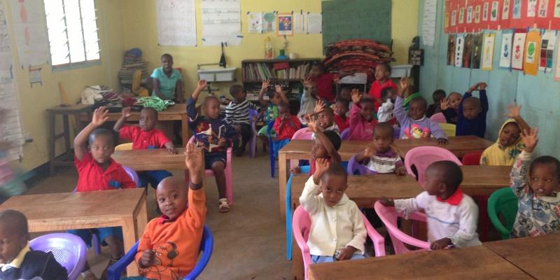 Tanzania vrijwilligerswerk Kilimanjaro school