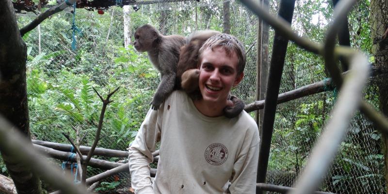 Vrijwilligerswerk Ecador Monkey Sanctuary