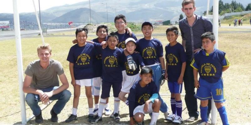 Vrijwilligerswerk Ecuador soccer coach