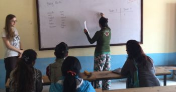 Vrijwilligerswerk Kathmandu klasje