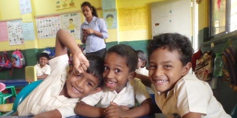 Sri Lanka Karlijn in de klas