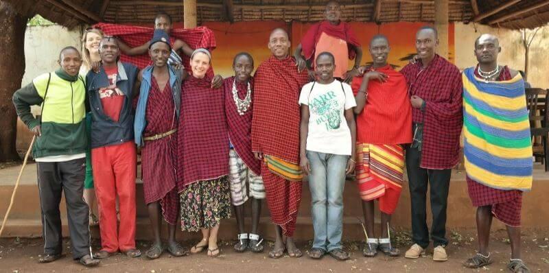 Vrijwilligerswerk Tanzania Massai project 2