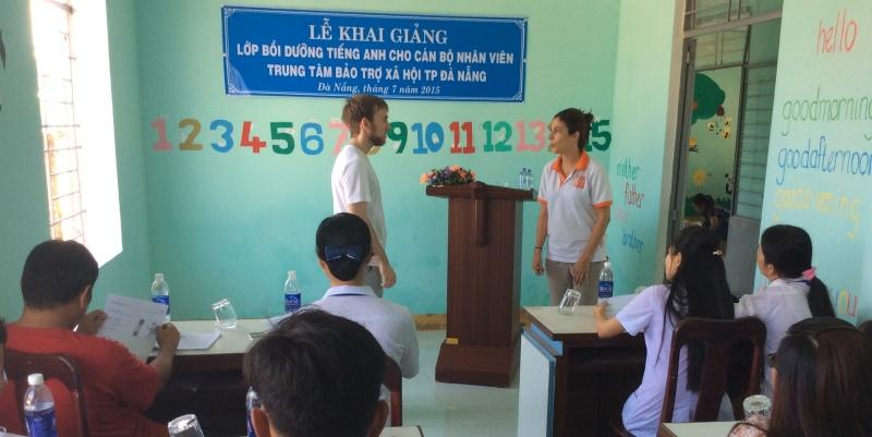 Vrijwilligerswerk Vietnam Engelse les