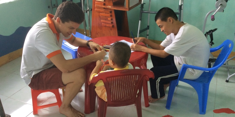 Vrijwilligerswerk Vietnam fysiotherapie
