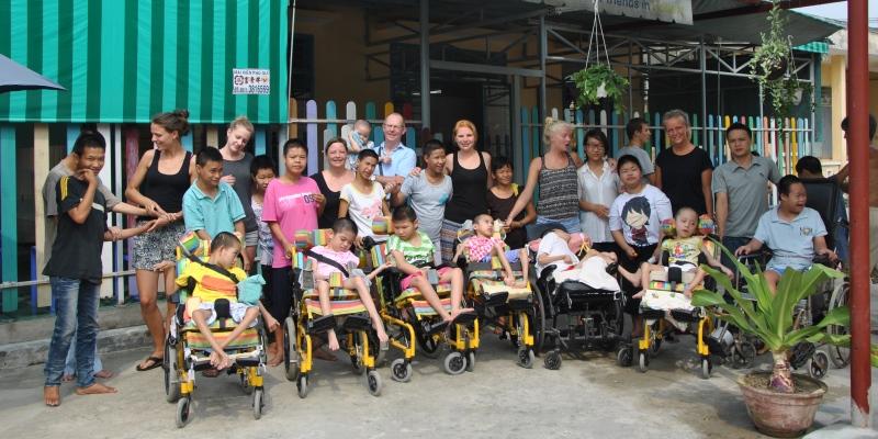 Vrijwilligerswerk Vietnam gehandicaptenzorg