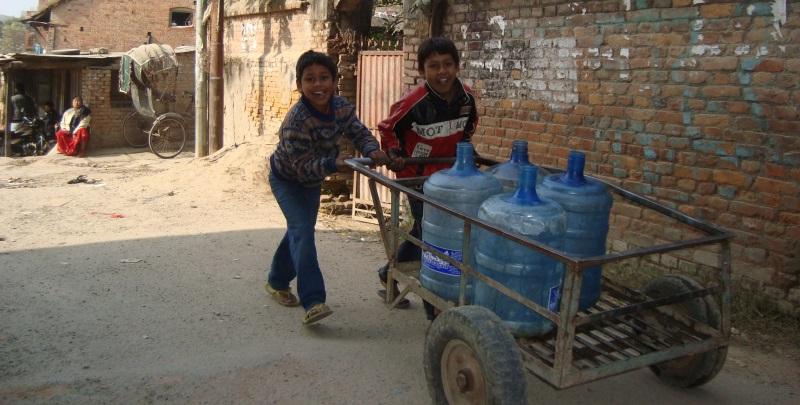 Vrijwilligerswerk in Nepal straatbeeld