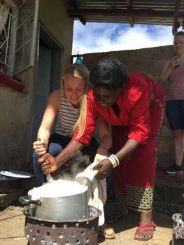 Zambia samne koken foto Delphine
