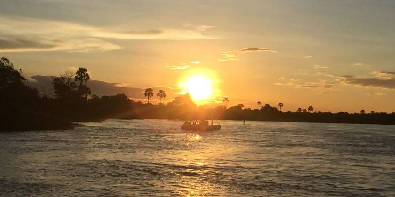 Zambia sunset foto Delphine