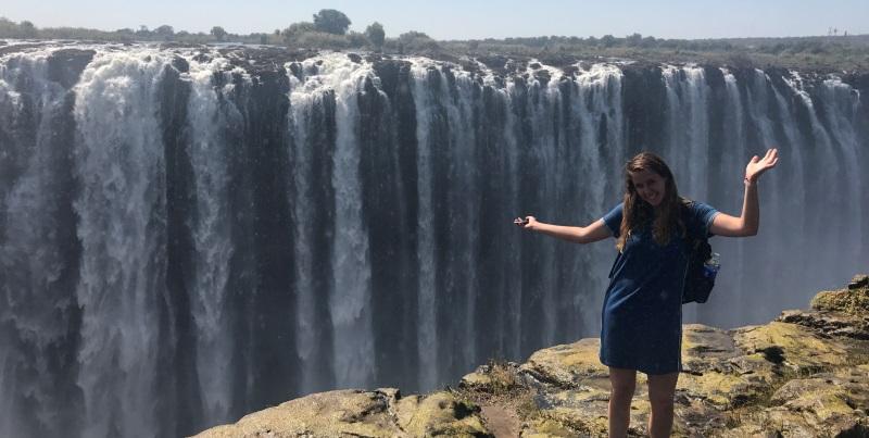 Zambia vrijwilligerswerk Livingstone Julia