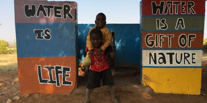 Zambia vrijwilligerswerk Livingstone Water is life