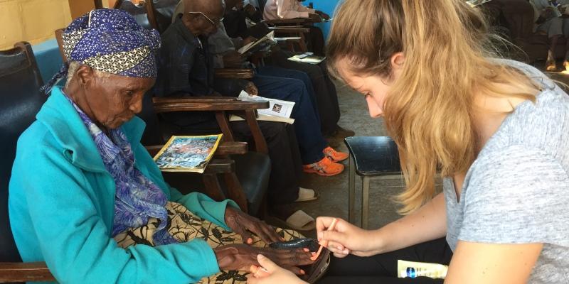 Zambia vrijwilligerswerk Livingstone ouderenproject
