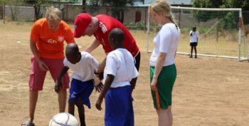 Zambia vrijwilligerswerk Livingstone sportproject