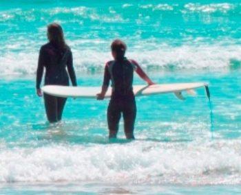 Zuid-Afrika Kaapstad Surf Bart