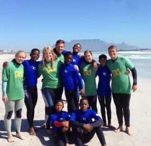 Zuid-Afrika Kaapstad Surf and Adventureclub