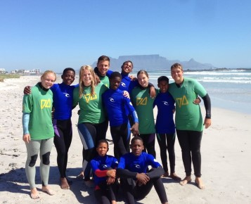 vrijwilligerswerk kaapstad surf and adventureclub