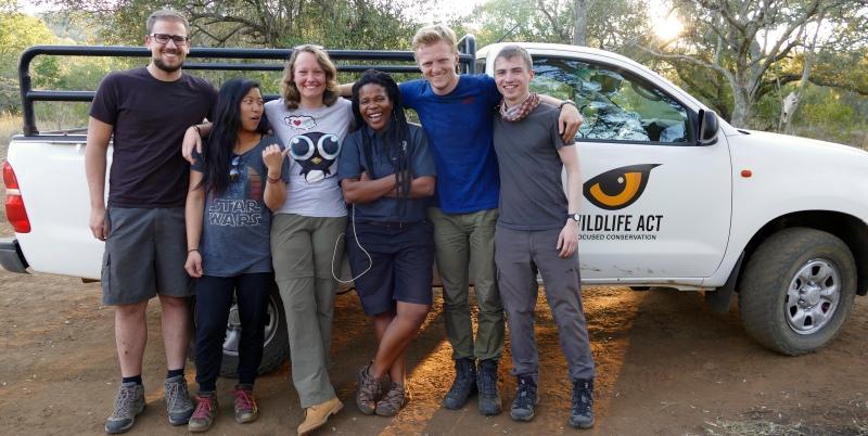 Zuid-Afrika Kwazulu Big 5 reservaten Suna en andere vrijwilligers