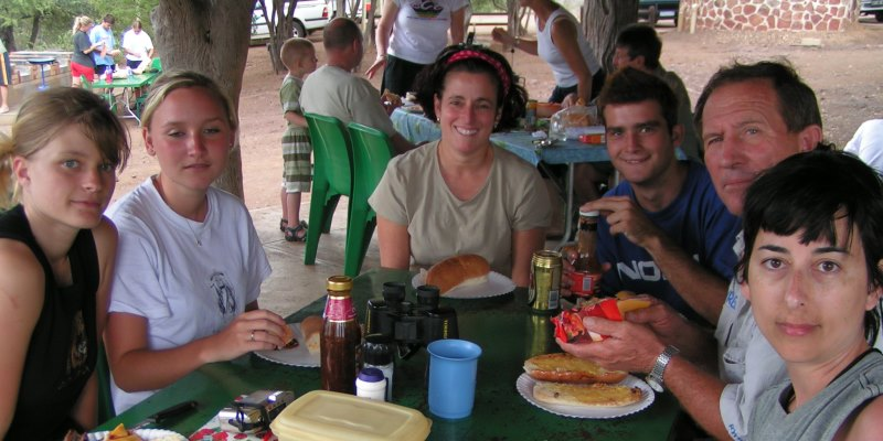 Zuid-Afrika Monkey rehabilitation project lunch in Kruger