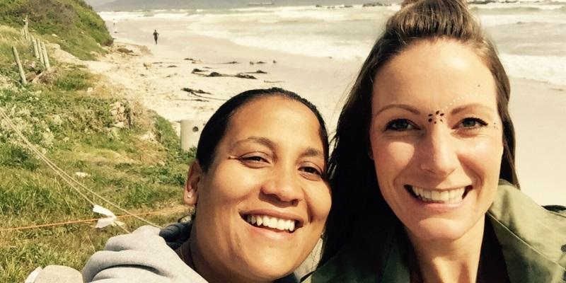 Zuid-Afrika Surf and Adventureclub Gail en Yvette
