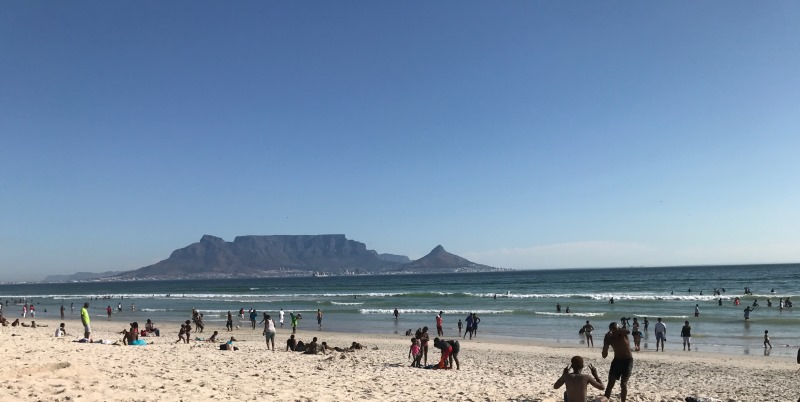 Zuid-Afrika Surf and Adventureclub Table View beach
