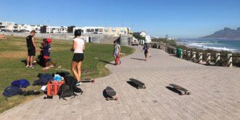 Zuid-Afrika Surf and Adventureclub skateles