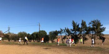 Zuid-Afrika Surf and Adventureclub voetballen